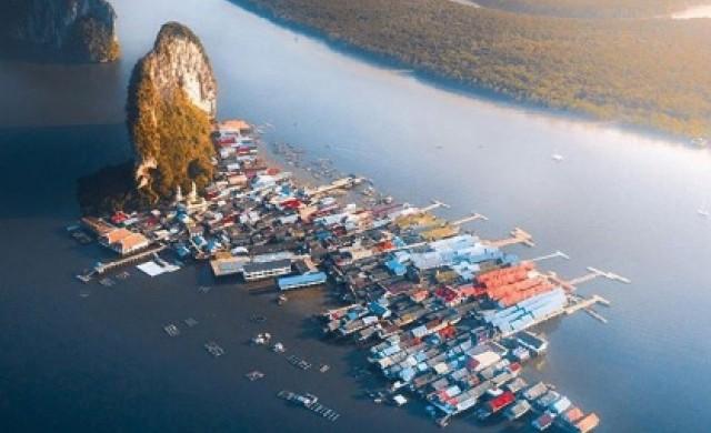 Ко Пани - удивителното плаващо село на Тайланд