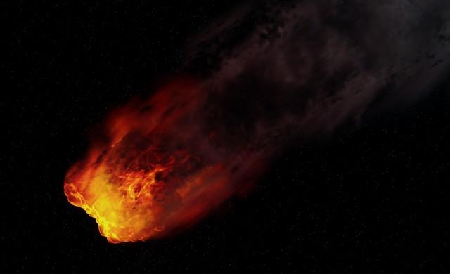Историята на метеорита, който се блъсна в кола