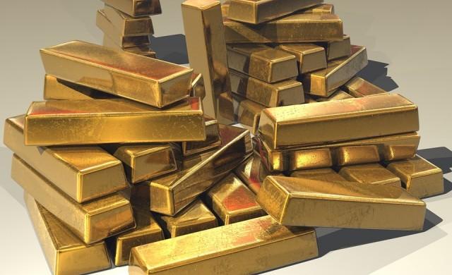 Пет държави притежават над 54% от световните резерви от злато