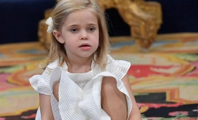 Тази малка шведска принцеса ни показа, че всички деца си приличат