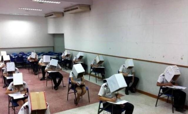 Най-жестоките наказания за преписване са в Китай