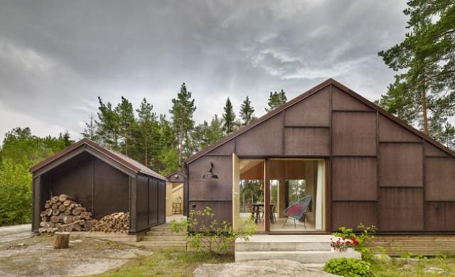 Практичността на една шведска лятна къща