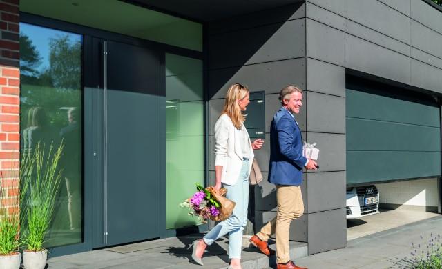 Нова елегантност при външните врати от Hörmann