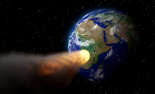 Астероид със силата на 5-килотонна бомба удари Земята (видео)