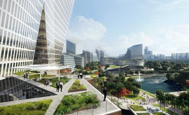 Китайска компания строи град за служителите си