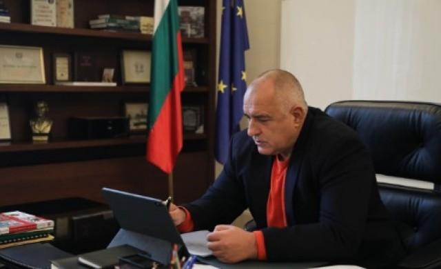 Бойко Борисов проведе телефонен разговор с Урсула фон дер Лайен