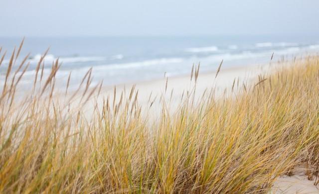 Разходка по най-дългия плаж у нас (снимки)