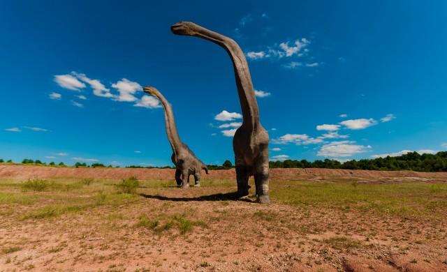 Откриха един от най-големите динозаври, живели на Земята