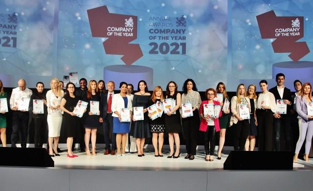 BILLA България с пет отличия в конкурса Компания на годината
