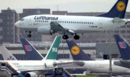 Над 200 полета отменени заради стачка в Lufthansa