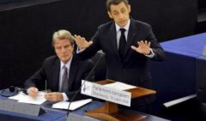 Саркози: Решаваме кризата с Лисабонския договор до декември