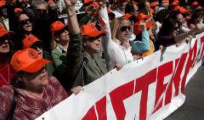 Транспортна стачка в Гърция