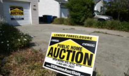 Продажбата на имоти, загубени заради просрочена ипотека в САЩ, се увеличават