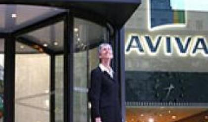 Aviva обяви загуба за полугодието поради падащите пазари