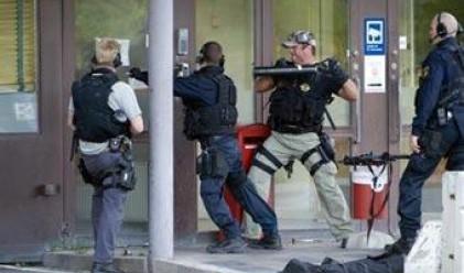 Драма със заложници се разигра в банка в Стокхолм