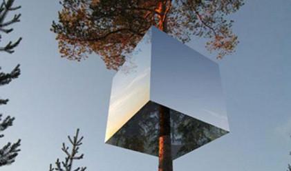 Дървесен хотел отваря врати в Швеция