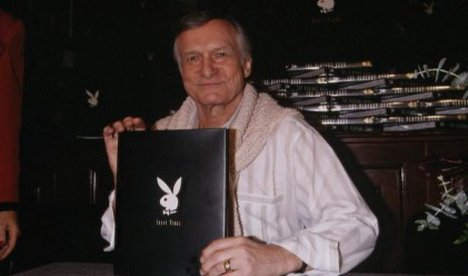 Хю Хефнър иска да свали Playboy от борсата