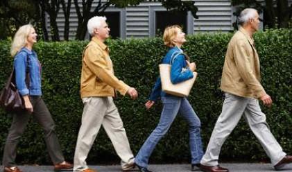 Ходенето е ключът към дълъг живот
