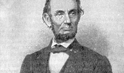 Продават уникално писмо на Линкълн