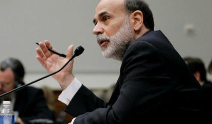 Еврото поевтиня след изказване на Бернанке