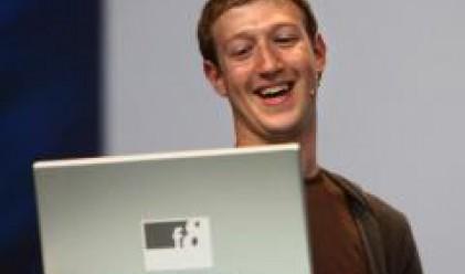 Facebook се посещава от половин милиард души дневно