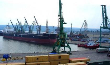 Пристанище Варна с ръст на товарите за първото полугодие