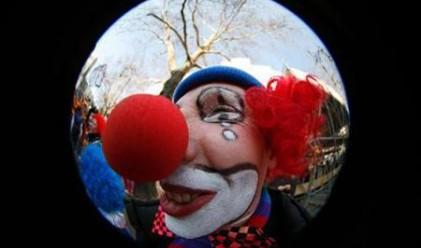 Клоун ограби банка
