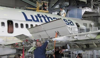 За първи път в България бе ремонтиран Boeing B737