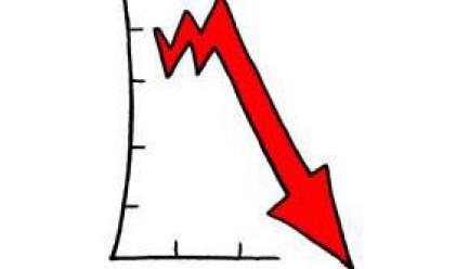 Спад на суровините