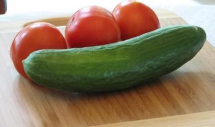 По-евтини домати, по-скъпи краставици