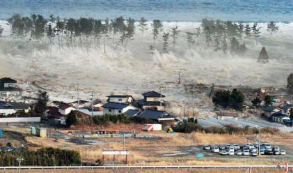 40.5 метра е било цунамито в Япония на 11 март
