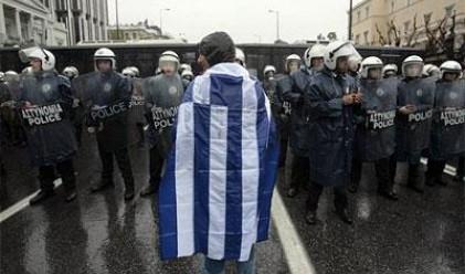 Сблъсъци между полиция и шофьори в Гърция