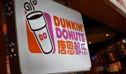 Компанията майка на Dunkin' Donuts с 422 млн. долара от IPO