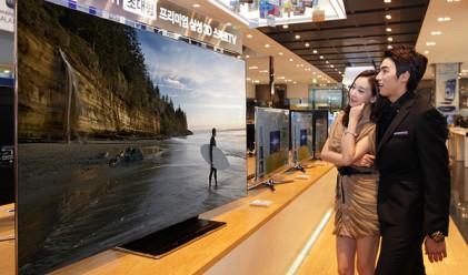 Samsung пусна 75-инчов телевизор за 17 000 долара