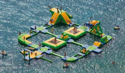 Невероятно водно забавление за жегите