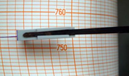 Земетресение на 20 км западно от София