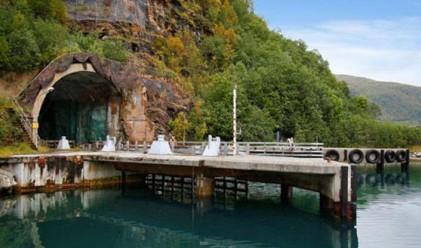 В Норвегия продават секретна база за подводници
