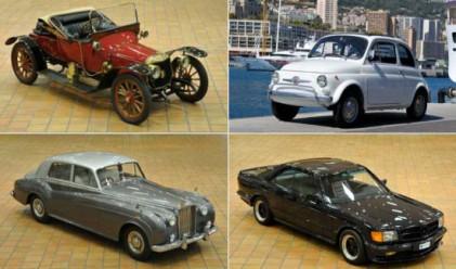 Князът на Монако разпродава ретро автомобили