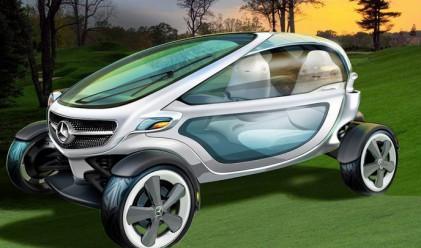 Mercedes-Benz проектира голф количката на бъдещето