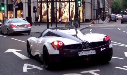 Арабските суперавтомобили отново са по улиците на Лондон