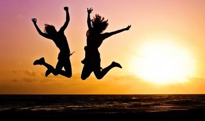 Когато всички хора на планетата скочат едновременно...
