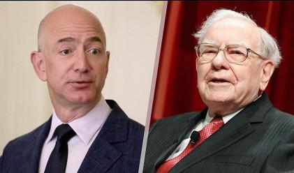 Amazon вече с по-голяма оценка от компанията на Уорън Бъфет