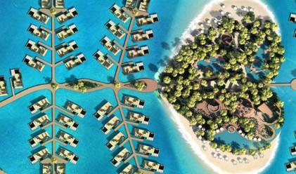 Нов остров в Дубай може да е най-романтичното място в света