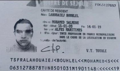 Атентаторът от Ница пратил SMS преди атаката