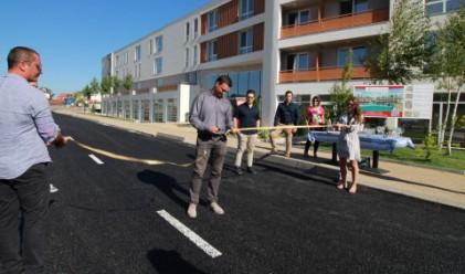 Атлантис България Холдинг изгради нова улица в Сарафово ЮГ
