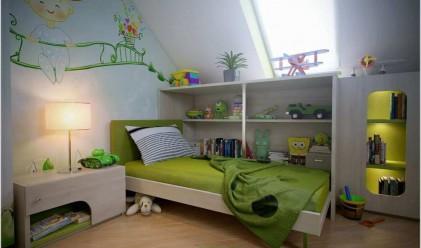 Таванска детска стая? Изключително добра идея