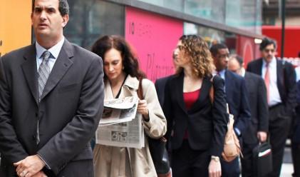 Първоначалните молби за помощи за безработица с 3-месечен минимум