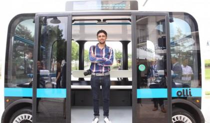 Запознайте се с Olli – микробусът, който шофира сам и ви говори
