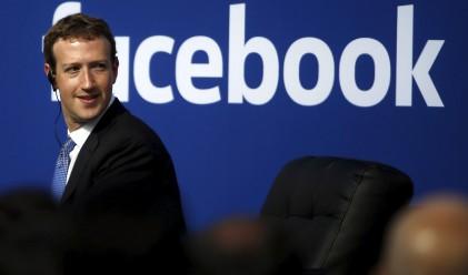 Facebook вече е в топ 5 на най-скъпите щатски компании