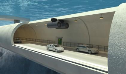 Норвегия ще изгради първия подводен тунел за обществено ползване